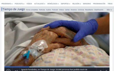 20.000 personas han podido morir de coronavirus en las residencias